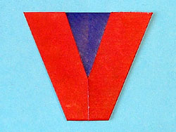 Der Buchstabe V | Basteln & Gestalten