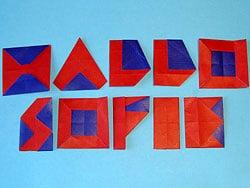 Top Buchstaben basteln | Basteln & Gestalten DH49