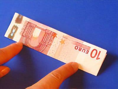 Geldgeschenk falten