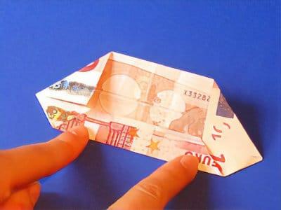 Eine Schicke Geld Blume Falten Basteln Gestalten