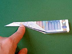 Ein Geld Flugzeug Basteln Gestalten