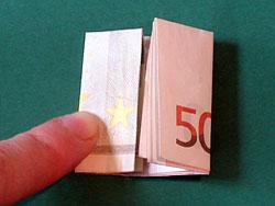 ein Geld Haus als Geldgeschenk basteln