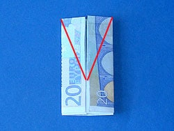 Eine Geld Jacke falten | Basteln & Gestalten