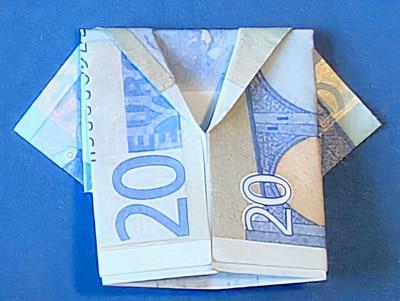 Geld Jacke