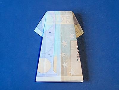 Geld Kleid