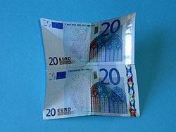 Geld falten