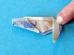 Ein Geld Schuh Basteln Gestalten