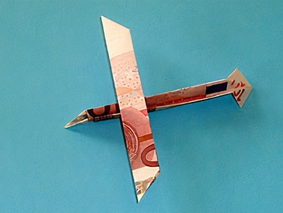 Geld - Segelflugzeug