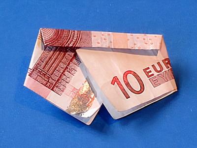 Geld verpackt als Hose   Basteln & Gestalten