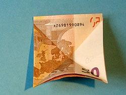 Schritt 3: Idee zum Geldfalten