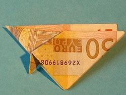 Schritt 7: Geld falten