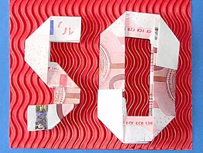 Geldgeschenke zum 50. Geburtstag | Basteln & Gestalten