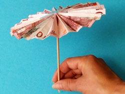 Origami, Geldscheine und Bücher gefaltet und entworfen von Dominik ...