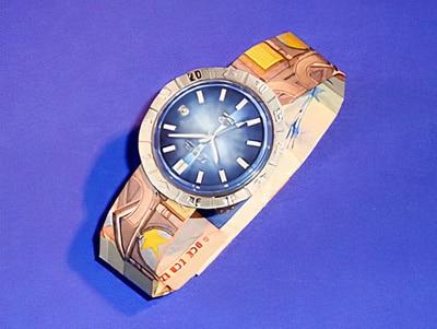 Geldgeschenk Uhr Basteln Gestalten