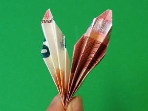 Geldgeschenke Als Schmetterlinge Basteln Gestalten