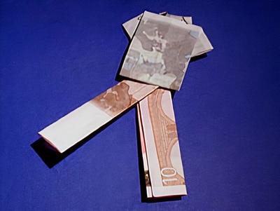 Geldgeschenke - verpackt als Hemd und Hose