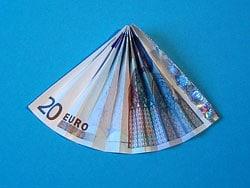 Ein Kleiner Geld Regen Basteln Gestalten