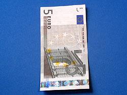 Krawatte aus Geld falten