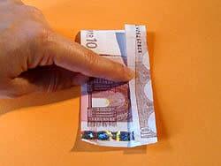 Ein Hemd aus Geld falten   Basteln & Gestalten