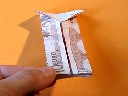 witzige Geldgeschenke falten