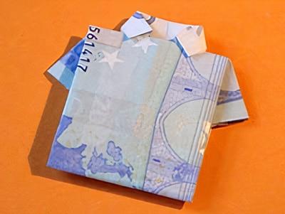 Ein Hemd Aus Geld Falten Basteln Gestalten