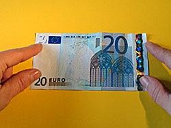 Geldgeschenk zur Konfirmation