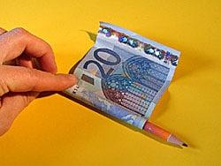 Ein Geldgeschenk Zur Konfirmation Basteln Gestalten