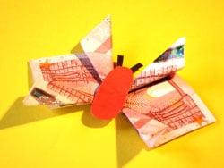 Schmetterlinge Fur Geldgeschenke Falten Basteln Gestalten