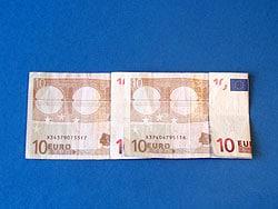 Basteln mit Geld