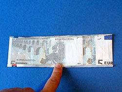Ein Geldgeschenk zum Schulanfang