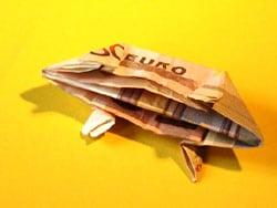 Geld verpacken