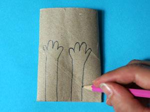 Basteln mit Papprollen