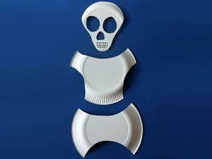 Skelett basteln