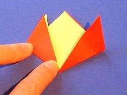 Eine Blume aus Papier basteln