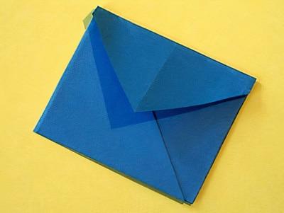 Einen Kleinen Briefumschlag Basteln Basteln Gestalten