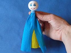 Klammer-Puppe