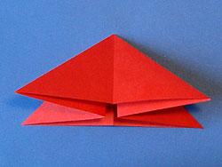 Schritt 7: Dreieck glatt streichen