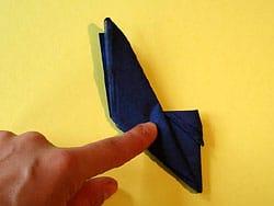 Schritt 9: Serviette wenden und letzte Schritte wiederholen