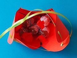 Basteln Sommer erdbeeren basteln im sommer basteln gestalten