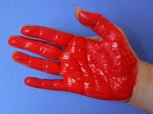 Handprint Krabbe