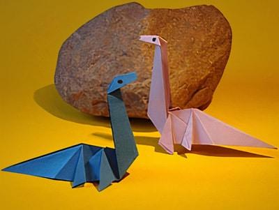 Einen Dinosaurier Basteln Basteln Gestalten