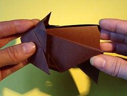Hunde aus Papier falten
