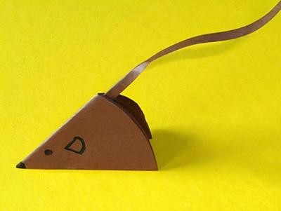 pferd aus papierrollen basteln, eine kleine maus falten | basteln & gestalten, Design ideen