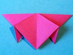 Schritt 8: Papier falten