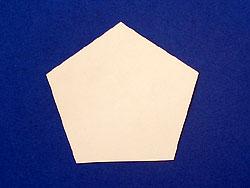 aus Transparentpapier falten