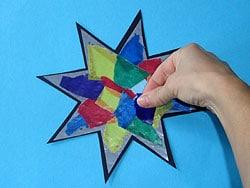 einen Stern basteln