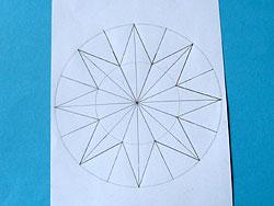 Seidenpapiersterne