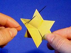 einen Stern falten