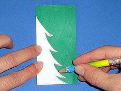 Baum aus Papier