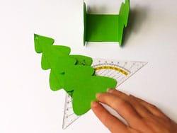 Tannenbaum Verpackung Basteln Gestalten